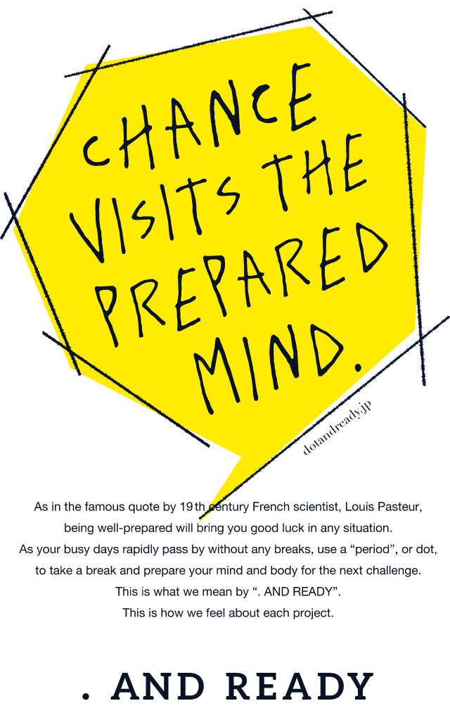 CHANCE VISITS THE PREPARED MIND